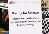 """Science in Racing"" STLP KY State Championships Slot Car Display"